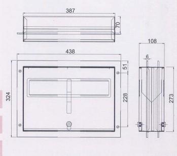 sb-170f崁墙式马桶座垫纸箱(隔间用)(砂面)